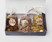 Almond Blossom - Sampler Gift Box with Choice of 3 Nuts